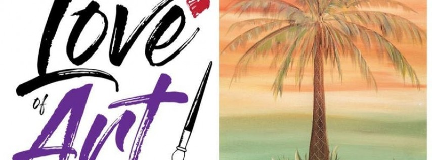 Paint and Sip Class: Warm Palm