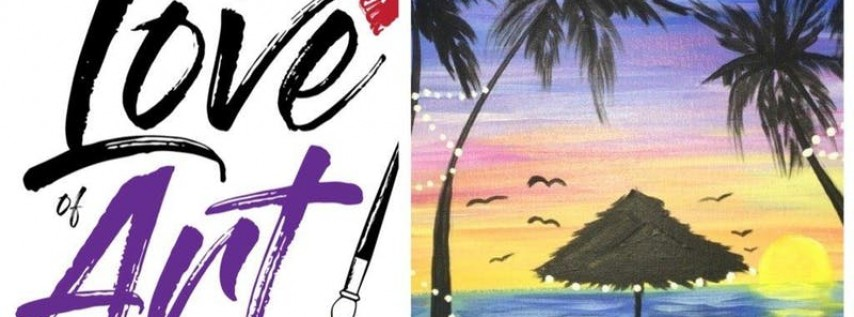 Paint and Sip Class: Sunset for Two (Great for couples)