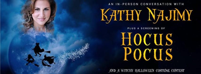 Kathy Najimy Live With Screening Of Hocus Pocus