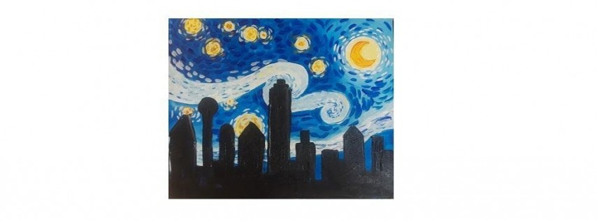 Paint Party at The Olive Garden in Dallas (Greenville) I 10.16.19