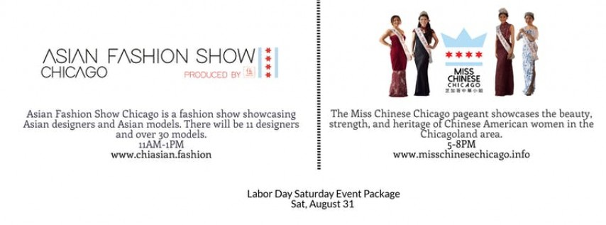 Fashion and Pageantry Labor Day Saturday