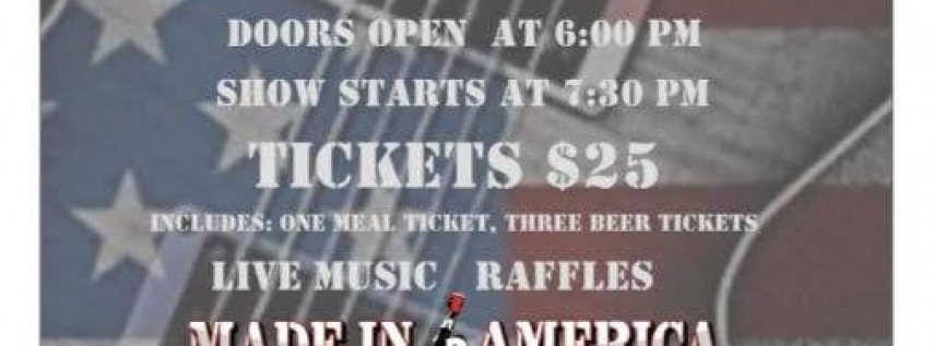 Toby Keith Tribute raising funds for Bridgeport VFW Aux by MIA!