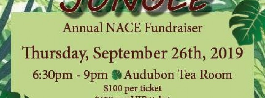 NACE New Orleans Annual Fundraiser - Welcome to the Jungle