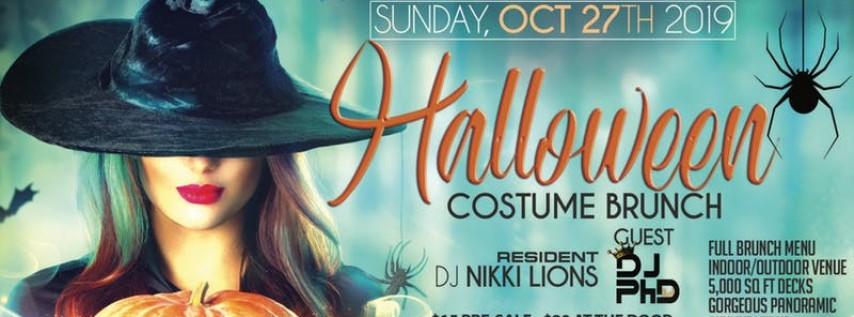Halloween Costume Brunch | All Women's Event