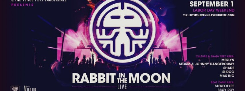 Rabbit in the Moon (LIVE) / The Venue Fort Lauderdaler