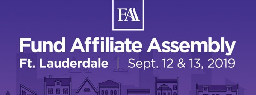 Fund Affiliate Assembly 2019 - Ft. Lauderdale