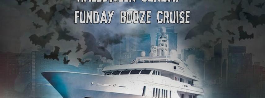 Halloween Sunday Funday Booze Cruise on October 27th