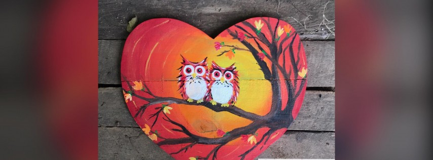 Fall Owls! Glen Burnie, Sidelines with Artist Katie Detrich!