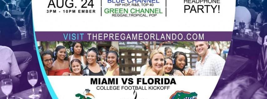 The Pregame: Silent Headphone Watch Party (Florida Vs Miami)