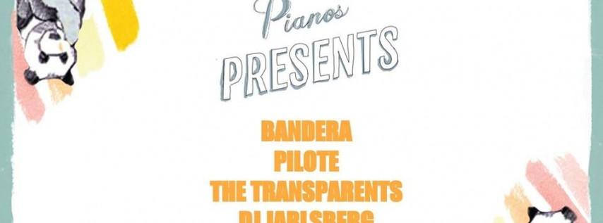 Bandera, Pilote, The Transparents, DJ Jarlsberg (FREE)