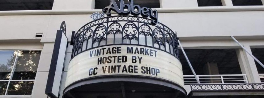 Vintage Makers Market at The Abbey Orlando