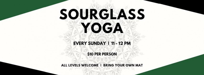 Sourglass Yoga Sundays