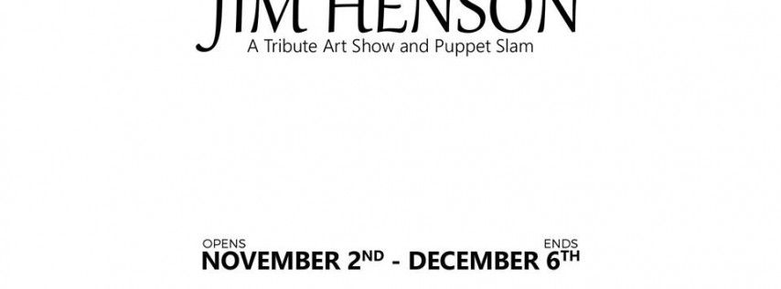Jim Henson Art Show at Hourglass Brewing