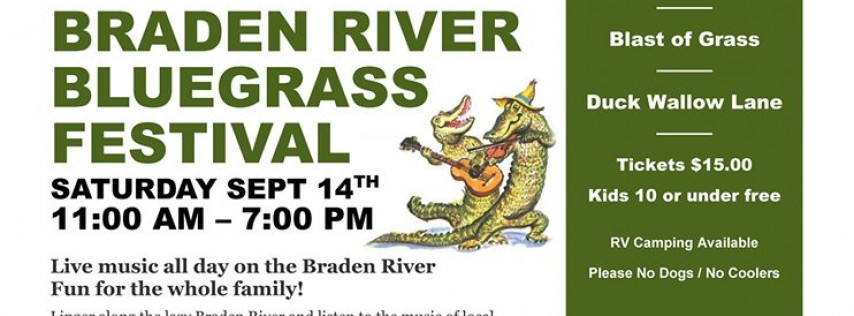 Braden River Bluegrass Festival