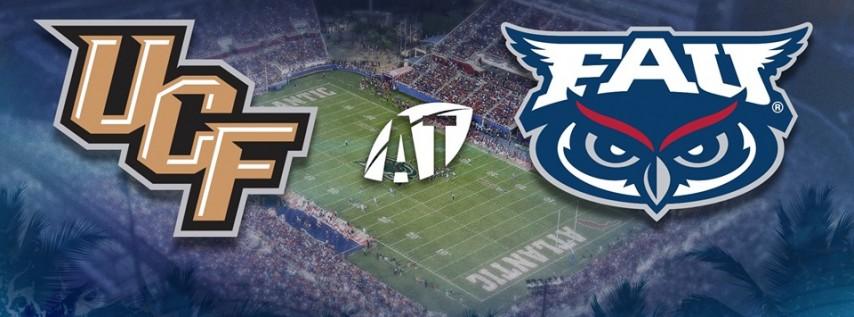 Florida Atlantic University Owls Football vs. UCF Knights Football