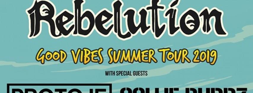Rebelution w/ Protoje & Collie Buddz at Sunset Cove Amphitheater