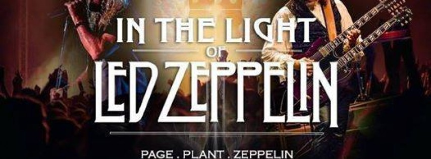 In The Light of Led Zeppelin - An Extraordinary Page & Plant Led Zeppelin Experience at The Funky Biscuit