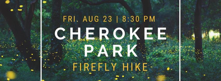Firefly Hike in Cherokee Park
