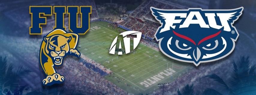 Florida Atlantic University Owls Football vs. Florida International University Football