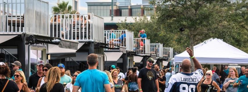 Party Shack Tailgate Village: Jaguars vs Los Angeles Chargers