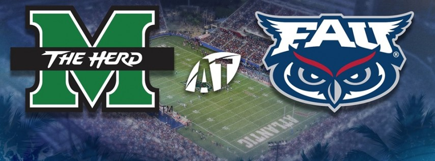 Florida Atlantic University Owls Football vs. Marshall University Thundering Herd