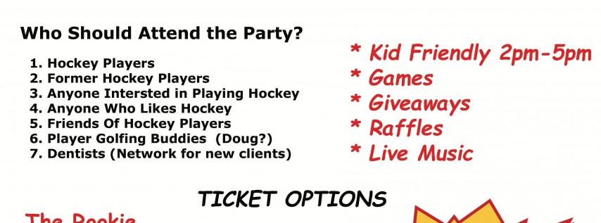 Annual Hockey League Appreciation Party