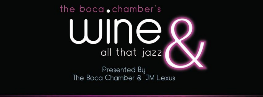 Wine & All That Jazz 2019!