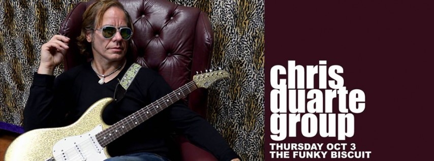 Chris Duarte Group at The Funky Biscuit