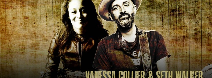 Vanessa Collier & Seth Walker at The Funky Biscuit