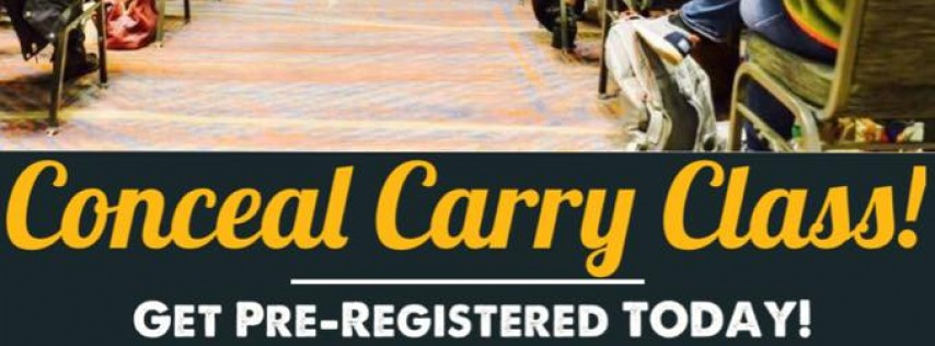 Conceal Carry Class | Tampa, FL August 24th 2pm-5pm