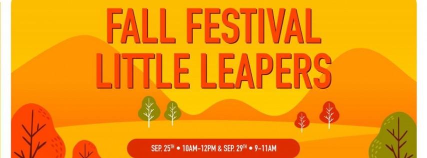 Fall Festival Little Leapers