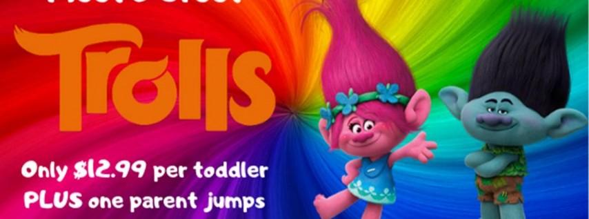 Trolls Meet & Greet Little Leapers