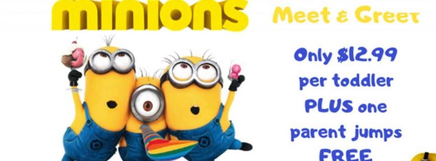 Minions Meet & Greet Little Leapers