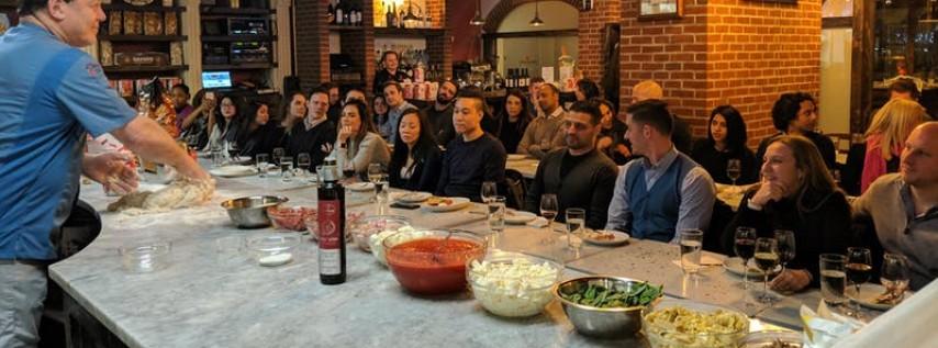 Make Pizza, Drink (Bottomless) Wine: Manhattan