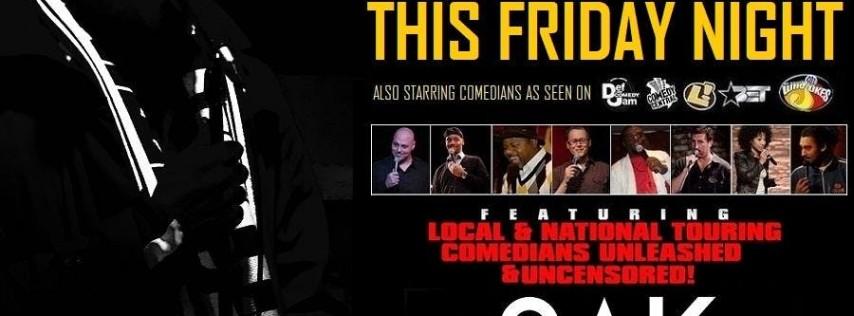 Friday Night Comedy @ 9PM