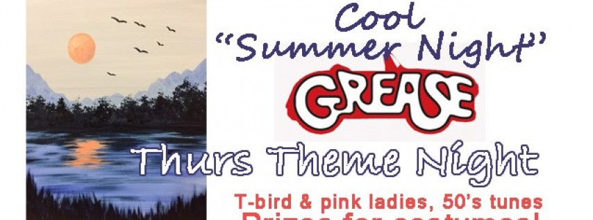 Thursday Theme Night-Grease