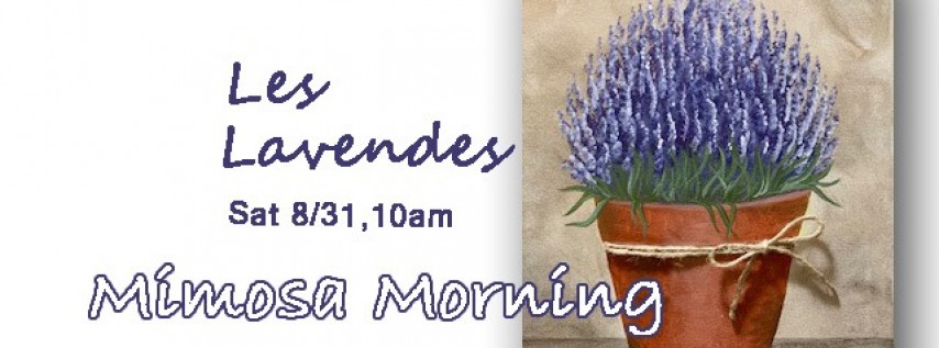 Mimosa Morning-Les Lavendes