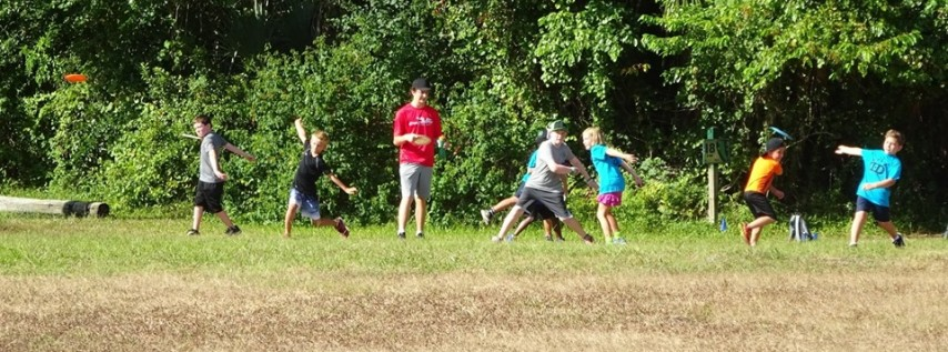 Eagles Wings Youth Disc Golf League