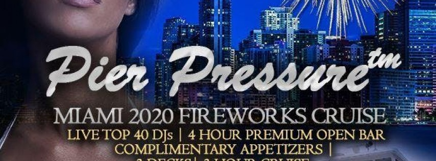 Pier Pressure Miami New Year's Yacht Party 2020
