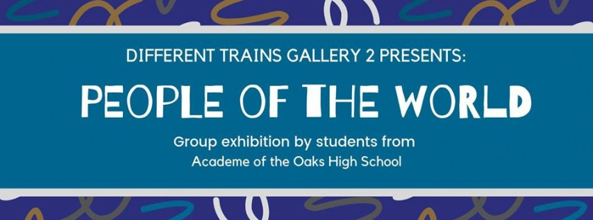 Different Trains Gallery 2 Presents 'People of the World'