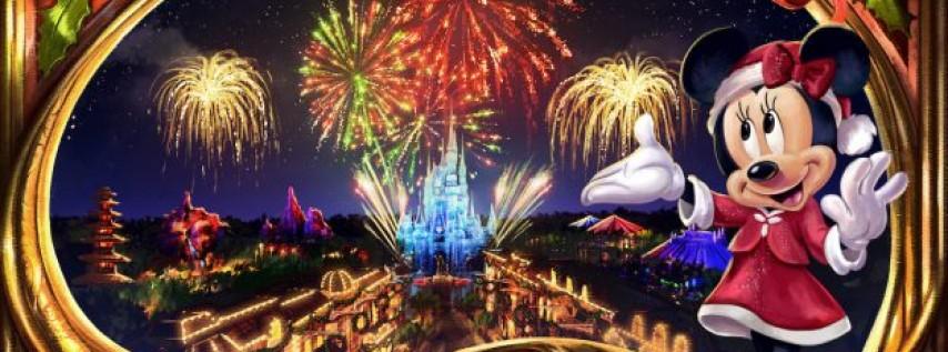 Minnie's Christmastime Fireworks Show