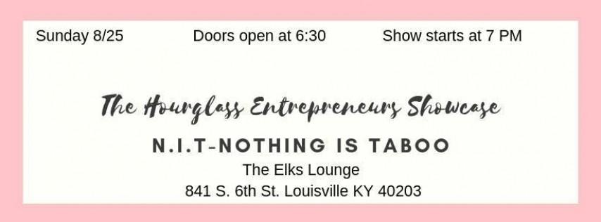 The Entrepreneurs Hourglass Showcase