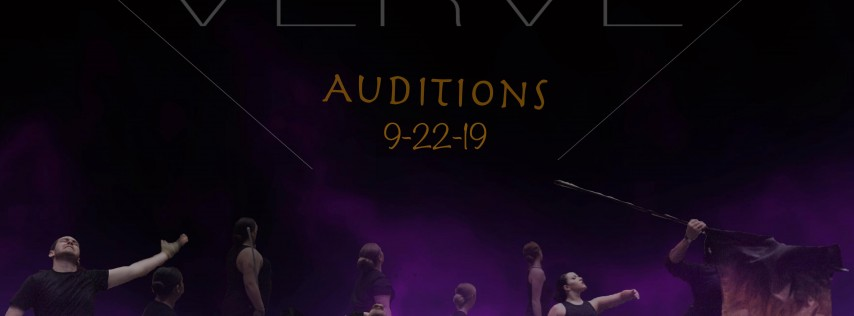 VERVE 2020 AUDITIONS