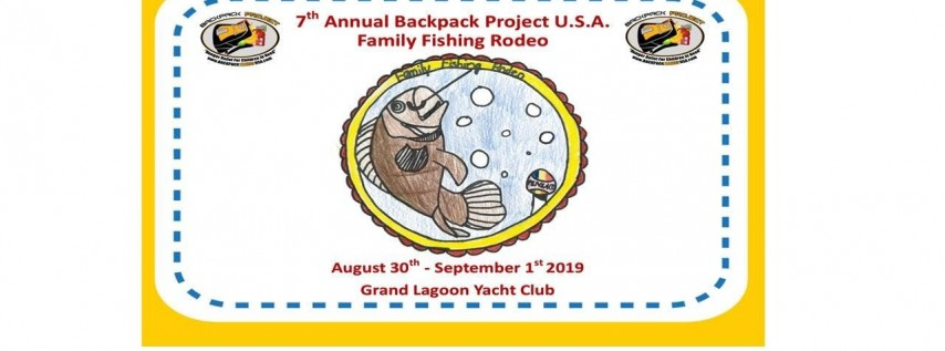 7th Annual Backpack Project USA Family Fishing Rodeo