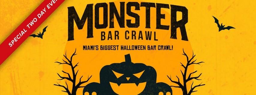 5th Annual Monster Bar Crawl in Miami
