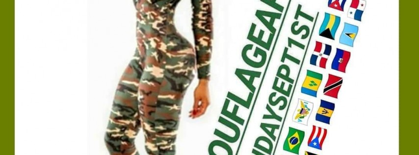 FLAGS AND FATIGUES! CAMOUFLAGE EDITION!! LABOR DAY SUNDAY NIGHT