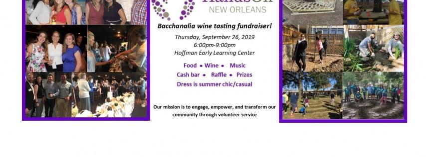 HandsOn fundraiser Bacchanalia 2019!