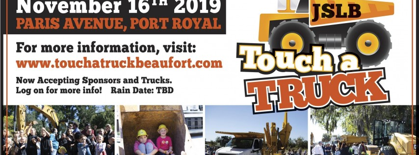 4th Annual JSLB Touch a Truck