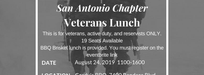 San Antonio Veterans Lunch