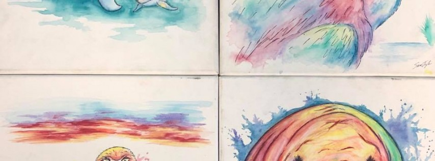Watercolor 101 - Your Choice! - $35